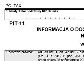 formularz pit-11