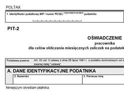 formularz pit-2