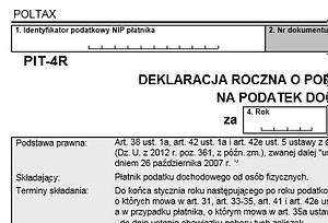 formularz pit-4r