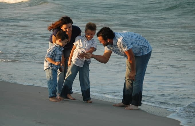 rodzina z dziećmi